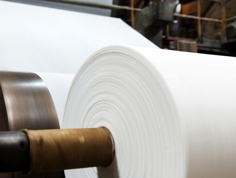 مراحل تولید دستمال کاغذی
